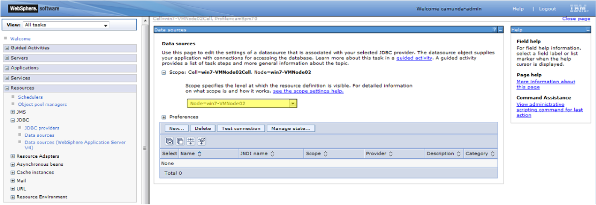 Install the Full Distribution on an IBM WebSphere Server | docs