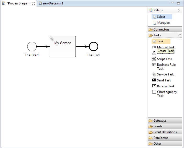 Modeling bpmn with the eclipse plugin docsmunda to open the diagram canvas right click on a bpmn file in the project explorer and select open with bpmn2 diagram editor on the right hand side of the ccuart Gallery