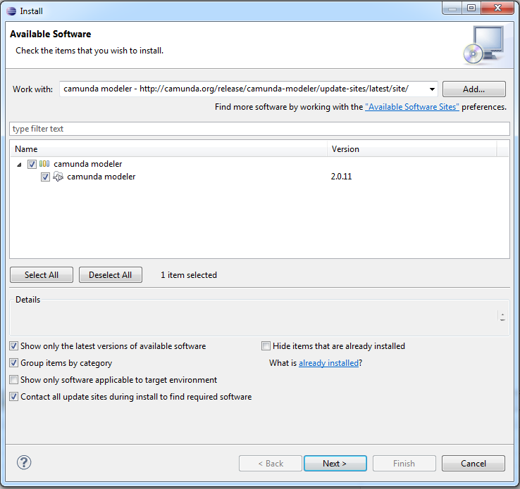 installing eclipse plugin manually